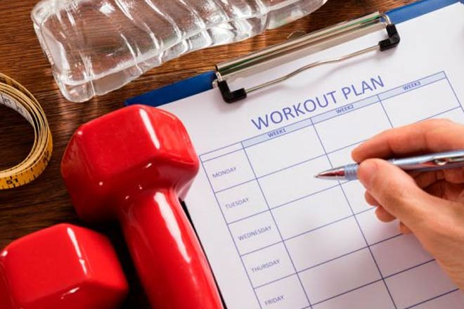 Make a Workout Schedule
