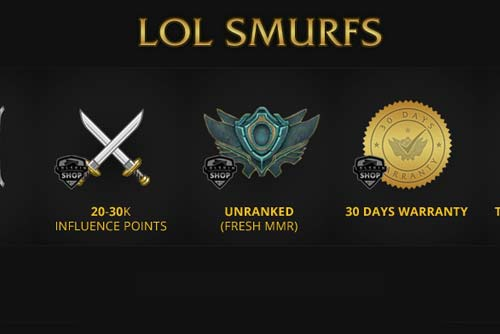 The Basic Facts About League Of A Legends Smurf Account