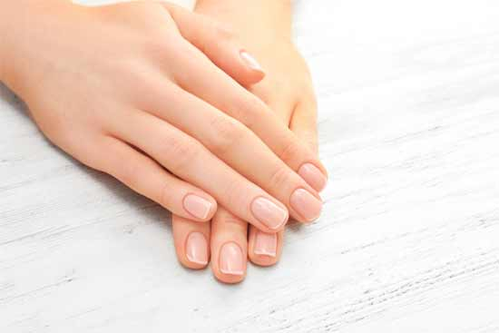 Ensure that your nails are hydrated