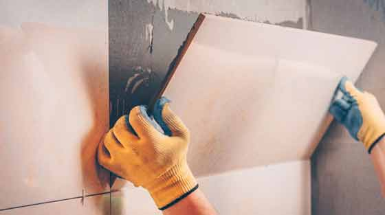 Common types of damages in tiles