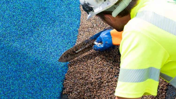 What are the benefits of rubber flooring