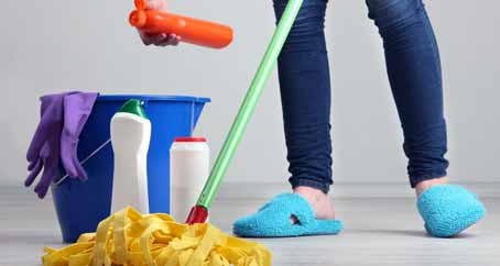 How To Clean Home Using A Schedule