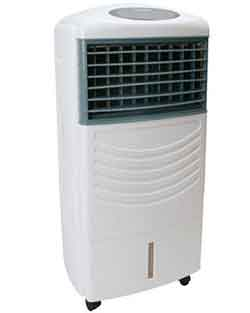 What is the function of ionizer in your air cooler