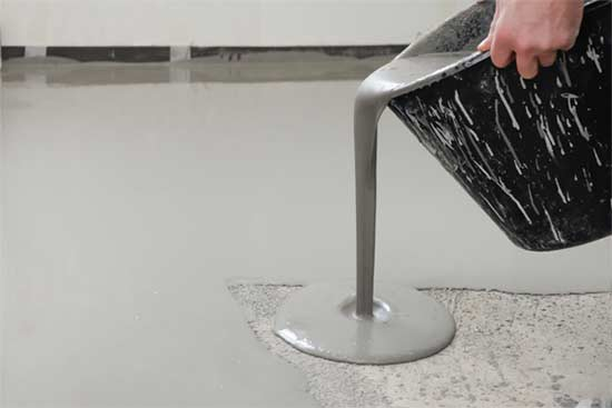 How long does Self-Leveling Concrete take to Dry