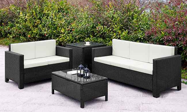 4 Most Common Types of Patio Furniture Cushions