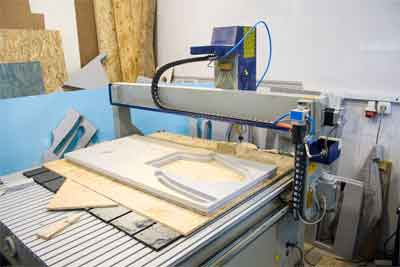 What is the best design for a cnc table router