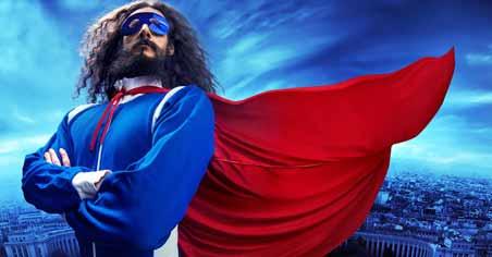 superman geek-to-hero